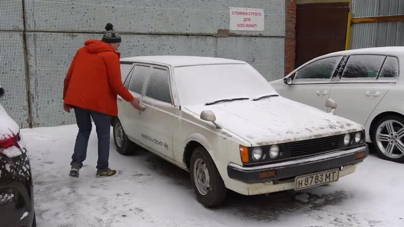 Toyota из СССР Брошена на 25 лет в гараже