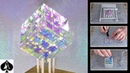 Making a Chroma Cube from Epoxy Resin with Dichroic Film As seen in Guardians of the Galaxy