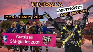 ФИНАЛ BANDY 2020-2021. Швеция Uppsala Elitserien «Villa» - «Aik» Алан Джусоев, Александр Ким