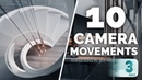 10 Camera Movements to use in 3ds max Animations