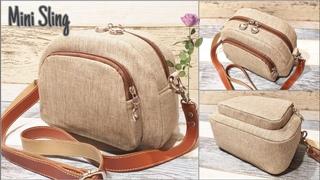 Cara membuat Mini Sling Bag lucu  pattern