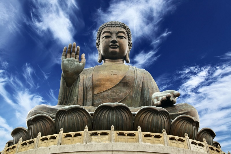 Большой Будда на острове Лантау, Гонконг, изображение №1