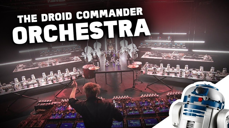 Watch this awesome droid orchestra LEGO Star Wars™ BOOST Droid Commander