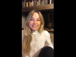 Cécilia Cara - Live Stream 1.2 (Instagram )