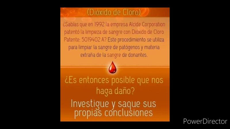 BIÓLOGO CANARIO PROPONE MMSDIÓXIDO DE CLORO COMO CURA EN24H PARA CORONA VIRUS