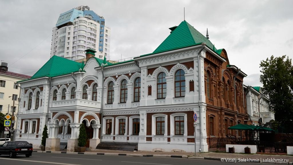 Многоэтажки в центре Самары