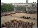 Scots Guards trooping the Colour 1977 Part 3