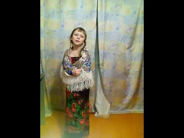 Алиса Курчева Чтение наизусть Величальная В Борисова