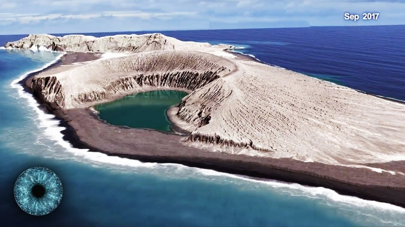 Mysteriöse Substanz stellt NASA vor Rätsel - Neue Insel im Pazifik - Clixoom Science Fiction