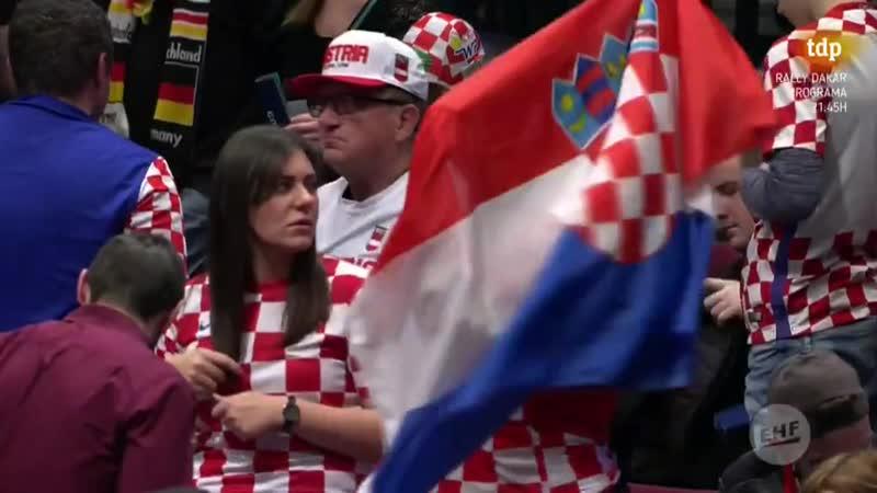 Campeonato de Europa Masculino Croacia Austria
