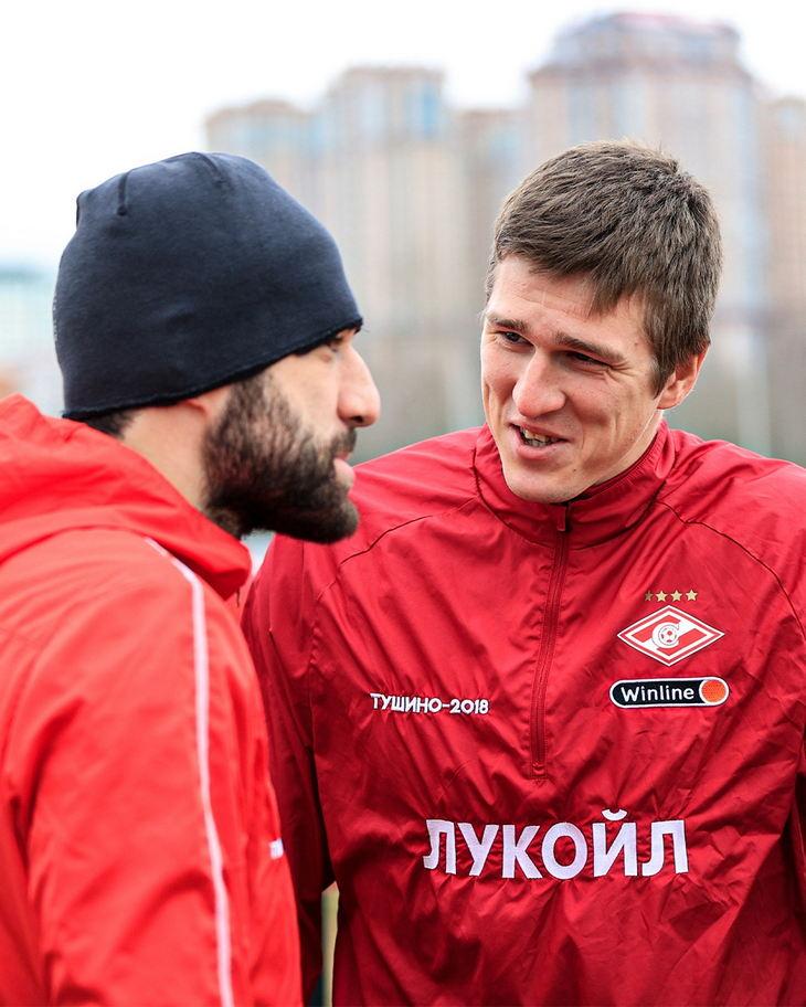 Георгий Джикия и Александр Соболев