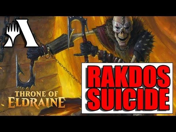 Rakdos Suicide - Стандарт! MTG Arena Throne of Eldraine