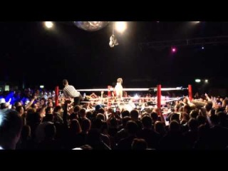 #My1 Prince Devitt wins the ICW Zero G Title