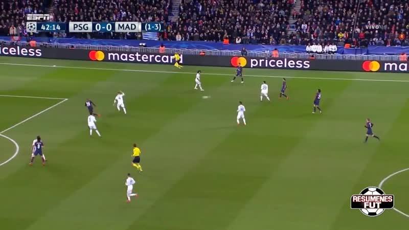 Real Madrid 2-1 PSG
