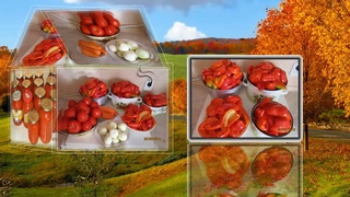 #лечо #салат #консервация #рецепт Салат Лечо к обеду  Консервация салата  Вкусный салат с перцем
