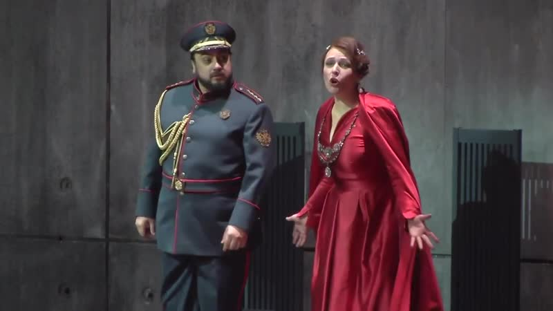 MACBETH Wiener Staatsoper 2015 Tatiana Serjan Ludovic Tézier Ferruccio Furlanetto