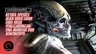 TERCIPTANYA ALIEN JENIS BARU ( NEWBORN ) | Alur Cerita Film Alien Resurrection