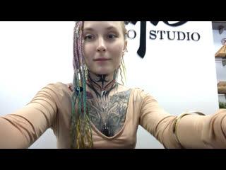 Live tattoo studio freestyle