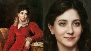 Портреты фавориток и любовниц русских императоров ожившие при помощи нейросетей