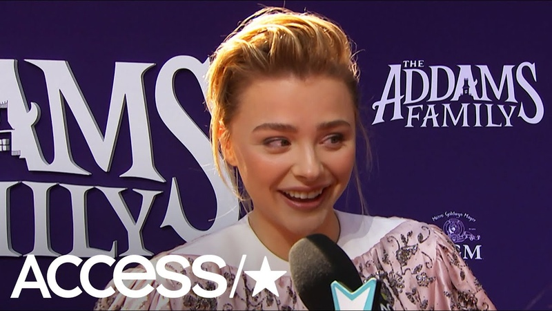Chloë Grace Moretz Fangirls Over 'Addams Family' Co-Star Bette Midler: 'She's The Spooky Queen!'