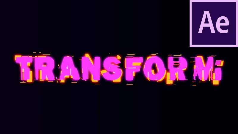 Text WIPE TRANSFORMATION Effect - After Effects Tutorial