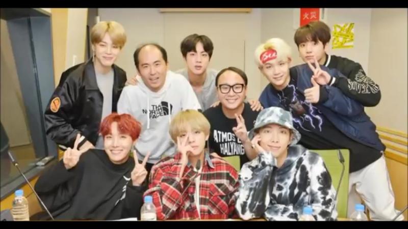180115 BTS on Trendy Angels PePePe Radio (2) BTS