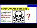 5G, Handystrahlung, WLAN- Strahlung. Ist das Handy gefährlich Krebs Physikalische Betrachtung.
