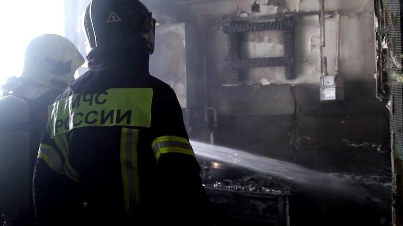 Севастопольские пожарные МЧС России оперативно ликвидировали пожар в квартире по улице Багрия