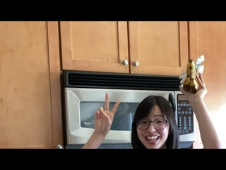 we r baking banana bread