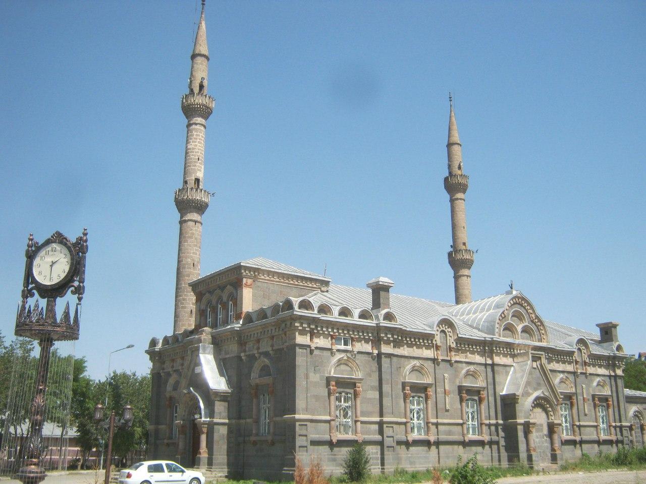 мечеть переделана из русской церкви