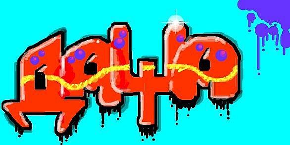 граффити с именем даша картинки сохранялся начала