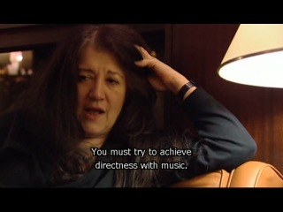 Martha Argerich evening talks 2
