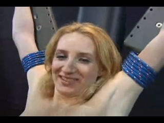 Dungeon maidens blondie bondage