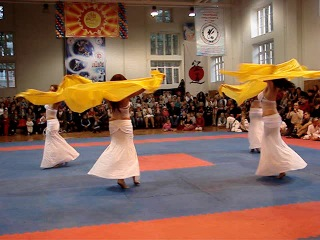 Танец с платками на день открытых дверей в ЦБИ 05.09.13 г.