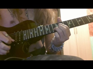 Me and charline . guitar solo . lesson ( for slava )