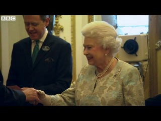 1D's Niall Horan nervously waits to meet The Queen