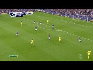 Чемпионат Англии 2014-15 / Премьер-лига / 03-й тур / Эвертон  - Челси / 1-й тайм 720p HD