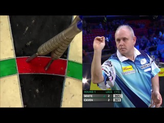Ian White vs Jamie Caven (Players Championship Finals 2014 / Round 1)