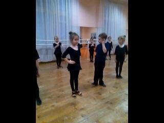 Жанна в танцевалке