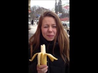 Nastia vs banana