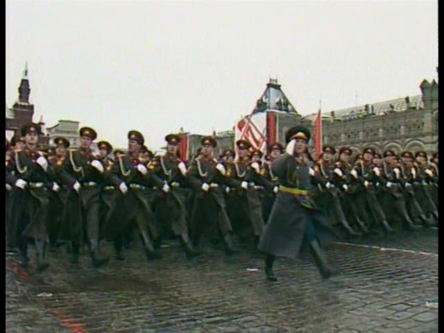 HD Final Soviet October Revolution Parade 1990 Парад 7 Ноября