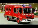 МУЛЬТИКИ ПРО МАШИНКИ Пожарная машинка и Полицейская машина Мультфильмы для детей