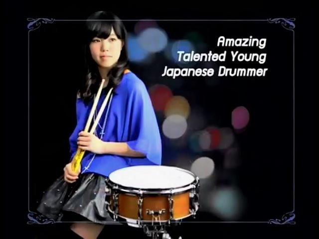 Senri Kawaguchi on drums HD720p