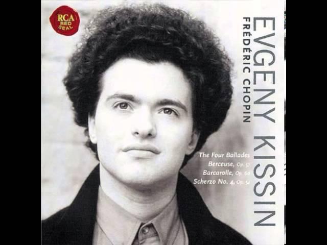 F. Chopin Ballade no.2 Opus 38 (F) By Evgeny Kissin