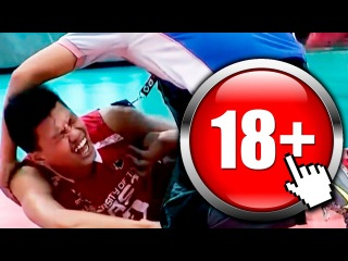 Most Horrific Volleyball Injuries  18+  HD