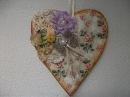 DIY Faça voce mesma coração vintage de caixa de leite heart crafts