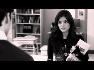 Pretty Little Liars - Aria & Ezra tribute || Rihanna - Love the Way You Lie HD