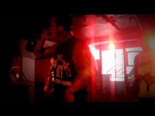 Dead by April - Intro + twofaced (Live at B&B in Halmstad, Sweden 2012)