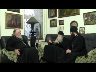 Отец Димитрий Смирнов и Схиархимандрит Иоаким Парр