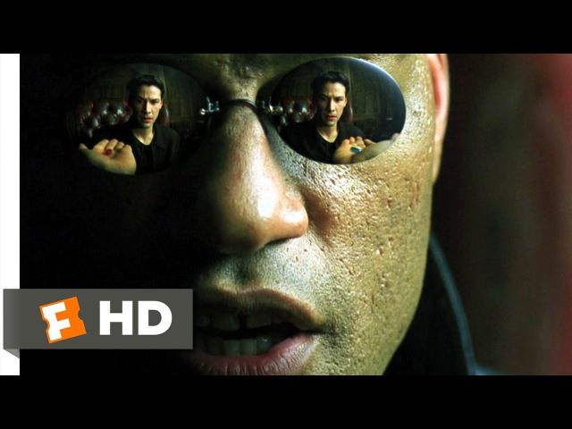 Blue Pill or Red Pill The Matrix 2 9 Movie CLIP 1999 HD